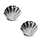 Silberohrstecker Meeresmuschel