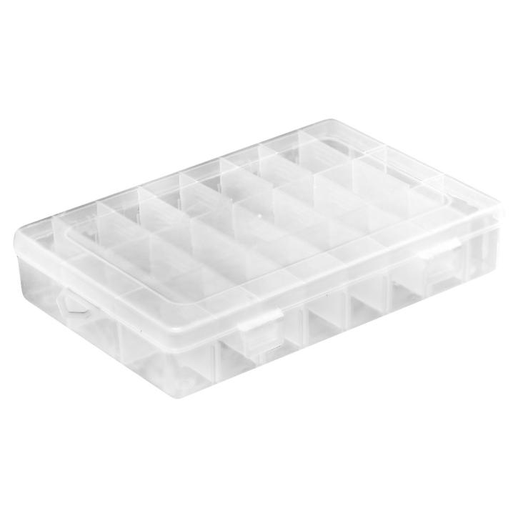 Kunststoff Aufbewahrungsbox mit maximal 24 Fächern