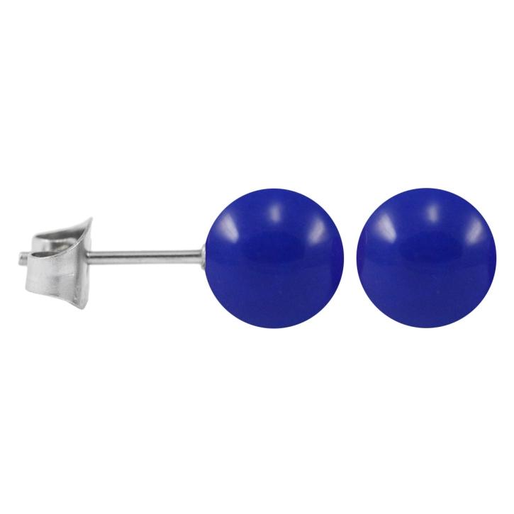 ohrstecker chirurgenstahl neonfarben blau 8 mm. Black Bedroom Furniture Sets. Home Design Ideas