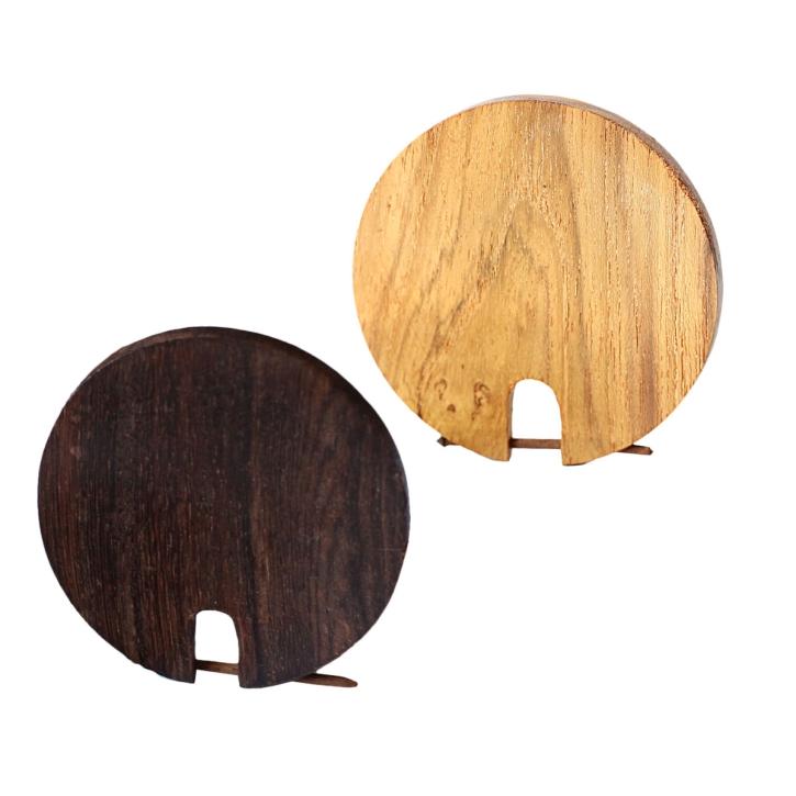 kreisförmiger Holzohrstecker