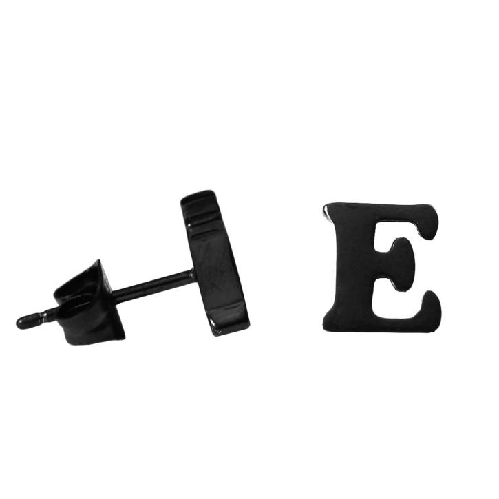 Buchstaben Ohrstecker E