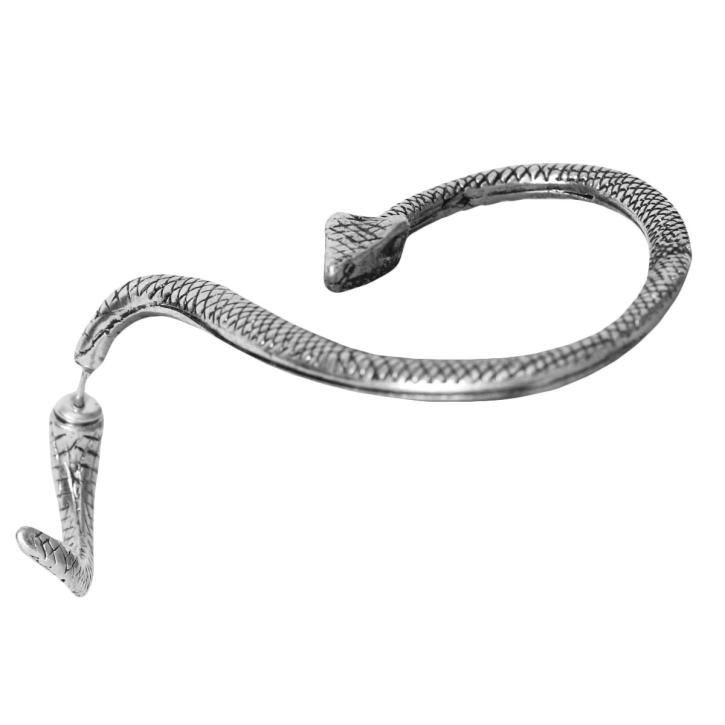 Modeschmuck Ohrstecker Schlange Ohrklemme Ear Cuff