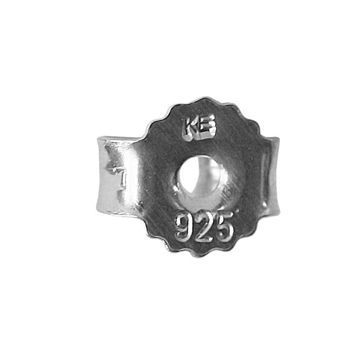 Ohrsteckerverschluss 925er Sterling Silber Ohrmutter