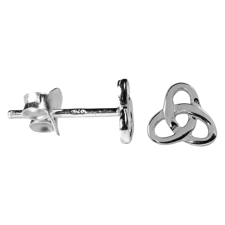 Silber Ohrstecker gordischer Knoten