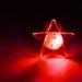 LED Ohrstecker Stern in verschiedenen Farben