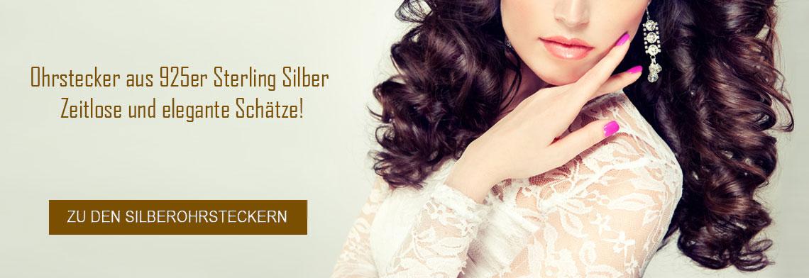 Silber Ohrstecker