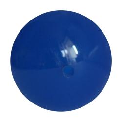 Blauachat Kugel angebohrt oder durchbohrt Perlengröße 3-12mm