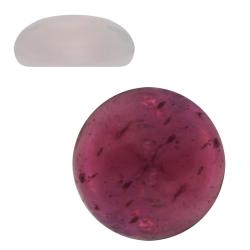 Cabochon Granat Klebstein rund 2-6mm