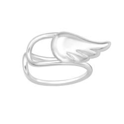 Ear Cuff 925 Sterling Silber Ohrklemme mit Flügel
