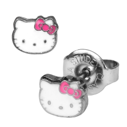 Chirurgenstahl Ohrstecker Hello Kitty Studex Sensitive