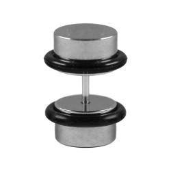 Fake Plug Ohrstecker Chirurgenstahl 12 mm