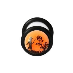 Fake Plug Halloween Ohrstecker im Dunkeln leuchtend Kind 10mm