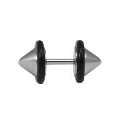 Fake Plug Ohrstecker Kegelförmig