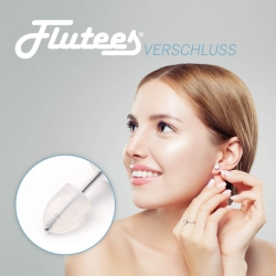 6 x Flutees Premium Verschlüsse für Ohrringe Ohrstecker