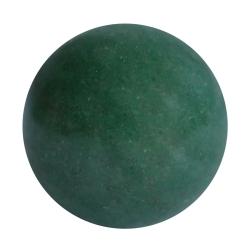 Grünachat Kugel angebohrt oder durchbohrt Perlengröße 3-12mm