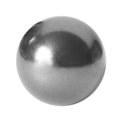 Imitierte Perle angebohrt Swarovski Elements in silber 6mm