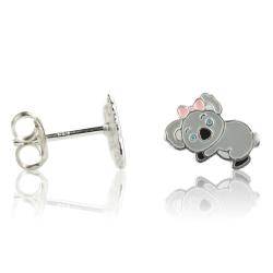 Kinderohrstecker 925 Sterling Silber mit Koala
