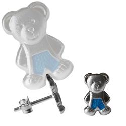 Ohrstecker Teddybären 925 Sterling Silber