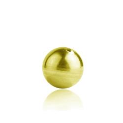 333 Gelbgold Kugel 8ct durchbohrt in verschiedenen Größen
