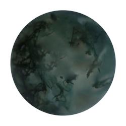 Moosachat Kugel angebohrt oder durchbohrt Perlengröße 3-10mm