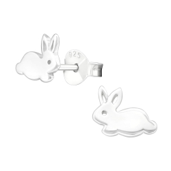 Ohrstecker 925 Sterling Silber mit Hase