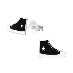 Ohrstecker Schuhe 925 Sterling Silber mit Sneaker