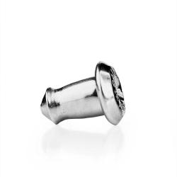 Verschluss für Ohrstecker Steckerhalter 585 Weißgold 14ct