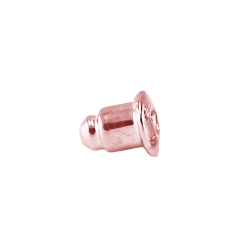 20 x Ohrsteckerpoussette Hinterstecker roséfarbend