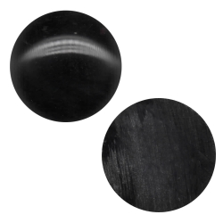 10 x Cabochon Onyx Klebstein rund 3-14mm