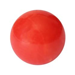 Rote Korallenkugel sardegna angebohrt Perlengröße 3-8mm