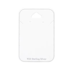 5 x Schmuckkarte 925 Sterling Silber Ohrstecker und Halskette