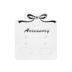 100 x Schmuckkarten Accessory für Ohrschmuck