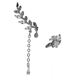 Ohrstecker 925er Sterling Silber mit verschiedenen Blattelementen