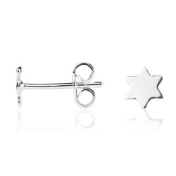Ohrstecker 925 Sterling Silber mit Stern