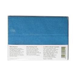 Spezial- und Pflegetuch Silber 25 x 30 cm in blau