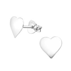 Ohrstecker 925 Sterling Silber mit Herz