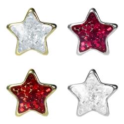 Studex Erstohrstecker Chirurgenstahl Glitterline mit Stern