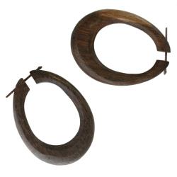 Tribal Holz Ohrringe